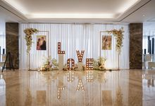 THE WEDDING OF H & G by GLORIOSA DECORATION
