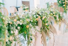 Stunning Elegant Rustic Themes by Bali Wedding Atelier