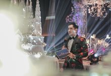 Wedding of MICHEL & DINA by Aldo Adela MC & Magician