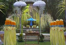 Julien & Eva Balinese Blessing Ceremony by Sudamala Resorts