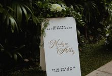 A Pleasant Wedding of Dysa & Adly by IONA Plant House