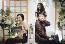 Engagement of Dhika & Riza by Double Happiness Wedding Organizer