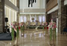 the wedding of  M & Y by GLORIOSA DECORATION