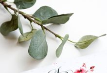 TRIFOLD Invitations by Gifu Invitation & Souvenir