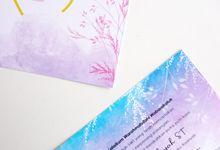 NONFOLD INVITATIONS by Gifu Invitation & Souvenir
