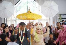 Wedding Qiqi & Ahmad by Dzz_photowork