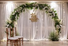 THE WEDDING OF H & M by GLORIOSA DECORATION