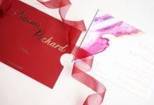 Single Board SLOP Invitations by Gifu Invitation & Souvenir
