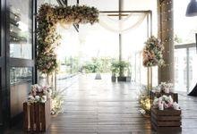 Ferdy & Julia Wedding At Ocha Bella by Fiori.Co
