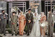Wedding of FAZA & WINONA by Aldo Adela MC & Magician