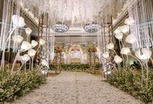 THE WEDDING OF A & S by GLORIOSA DECORATION