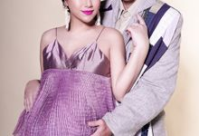 Stevan Willian & Celine Evagelista Maternity Shoot by Robin Alfian Photography