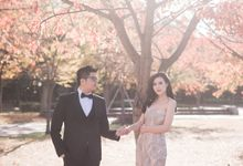 Prewedding of Wilson & Eagle - Japan Autumn by Écru Pictures