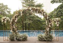 Hideki & Villi Wedding At Wyls Kitchen by Fiori.Co