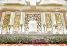 Ritz Carlton Pacific Place, 3 Aug '19 by Pisilia Wedding Decoration