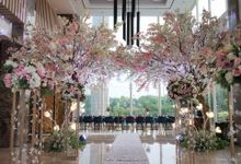 the wedding of H & I by GLORIOSA DECORATION