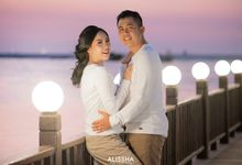 Outdoor Pre-wedding at Ancol by Alissha Bride
