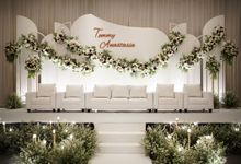 Tommy & Anastasia Wedding At Le Meridien by Fiori.Co