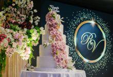 The Wedding Cake Of Reyner & Vania by Moia Cake