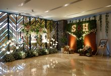 the wedding of S & H by GLORIOSA DECORATION
