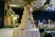 The Wedding Cake Of Reyner & Vania by Moia Cake