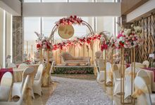 THE WEDDING OF B & P by GLORIOSA DECORATION