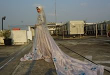 Selecta Blue Wedding dress by forevervirgin.nomore