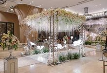 THE WEDDING OF B & D by GLORIOSA DECORATION