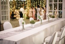 THE WEDDING OF Y & N by GLORIOSA DECORATION