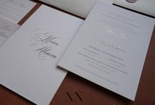 Kevin And Alviera by Vinas Invitation