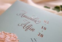 Amanda And Alfin by Vinas Invitation