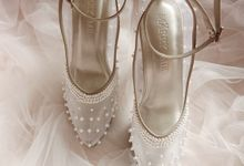 Irene's wedding shoes by Marry Me Bridal Shoes