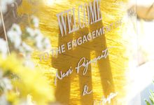The Engagement Nevi & M Tazul Arifin by Thebridewears
