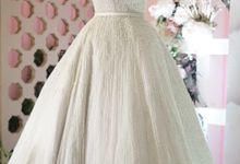 Vertical pearl Ballgown by iLook ( Makeup & Couture )