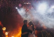 BukitDarmoGolf | Ezra & Gaby by diskodiwedding