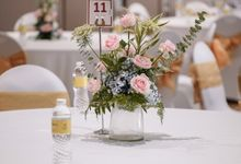 THE WEDDING OF G & s by GLORIOSA DECORATION