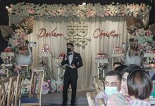 Engagement of DEVIENA & CHRISTIAN by Aldo Adela MC & Magician