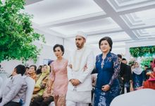 From Noni & Ilhams Akad by  Menara Mandiri by IKK Wedding (ex. Plaza Bapindo)