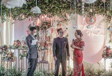 Engagement of CHRISTIN & HENDRA by Aldo Adela MC & Magician