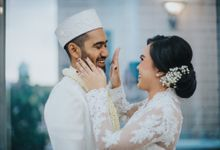 From Noni & Ilhams Akad by Menara Mandiri (Ex. Plaza Bapindo) by IKK Wedding