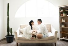 Prewedding Studio Angga & Arlha by Monolog photography