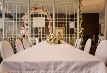 THE WEDDING OF B & M by GLORIOSA DECORATION