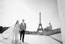 Pre Wedding Chiffon Dress by Stephani Janet Bridal & Couture