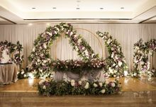 Ivandi & Kessia Wedding At On Five Grand Hyatt by Fiori.Co