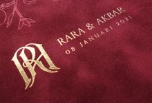 Rara And Akbar by Vinas Invitation