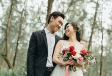 Engagement Session in the Woods by Fleurish Floral Design