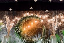 Romantic Moon And Stars Wedding Theme by Pine House Organizer & Decoration