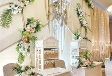 Ritz Carlton Mega Kuningan, 23 Jun '19 by Pisilia Wedding Decoration