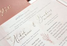 Atikah And Bebe by Vinas Invitation