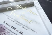 Nicole And Kevin by Vinas Invitation